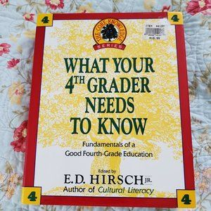What Your 4th Grader Needs to Know Book Homeschool